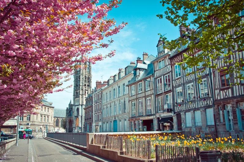rouen top 5 ville refaire sa vie seine financement